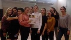 Szczypiornistki z malborskiego II LO najlepsze w Mistrzostwach Powiatu