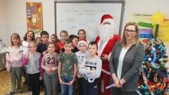 Mikołajki w Szkole Podstawowej w Jantarze