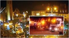 Mikołaje w ciężarówkach wyruszyli do Nowego Stawu na pomoc dzieciom