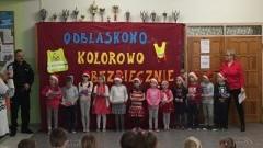 Finał konkursu plastycznego w Zespole Szkół w Tujsku.