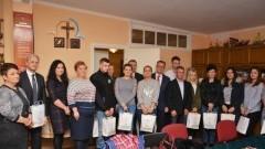 Starosta nowodworski wraz z Burmistrzem Michalskim uhonorowali krwiodawców