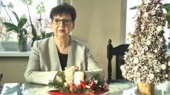 Ewa Dąbska, Wójt Gminy Stegna składa życzenia świąteczno – noworoczne