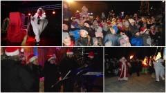 Wesoły orszak świętego Mikołaja w Malborku.