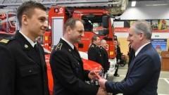 Samochody i sprzęt dla strażaków z Nowego Dworu Gdańskiego