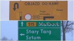 Od 8 stycznia pojedziemy objazdem. Kolejne utrudnienia na DW nr 515 - trasa Tropy Sztumskie – Dzierzgoń.