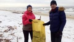 Mierzeja po-MORZE sprzątanie plaż w Kątach Rybackich i Sztutowie.
