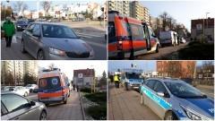 Oślepiające słońce prawdopodobną przyczyną potrącenia kobiety na ulicy Mickiewicza.
