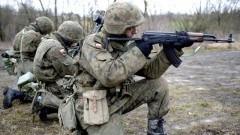 Uśnice: Szkolenie dla żołnierzy 71. Batalionu Lekkiej Piechoty z Malborka