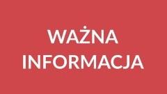 Nowy Dwór Gdański: Informacja Urzędu Miasta ws. sobotnich uroczystości pogrzebowych w Gdańsku.