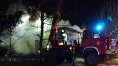 Pożary w Lubieszewie i Groszkowie - raport nowodworskich służb mundurowych