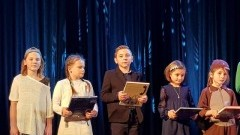 Uczniowie ze Szkoły Podstawowej w Jantarze wystąpili w XIX Przeglądzie Jasełek w Gdyni.