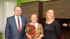 Nowy Dwór Gdański: 91.urodziny Pani Wiery Okuniewskiej