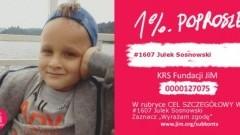 Marynowy: 7-letni Julek potrzebuje naszej pomocy. Pomóżmy mu walce z bólem i chorobą!