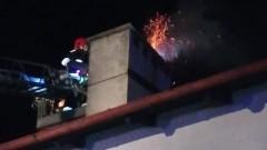 Malbork: Pożar sadzy w kominie na ul. Sobieskiego