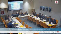 V nadzwyczajna sesja Rady Miejskiej w Sztumie. [video]