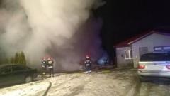 Pożar stolarni w Koniecwałdzie, zderzenie czołowe w Pierzchowicach- raport sztumskich służb mundurowych