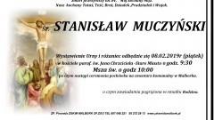 Zmarł Stanisław Muczyński. Żył 84 lata.