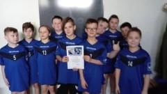 II miejsce drużyny Zespołu Szkół w Stegnie w Półfinale Wojewódzkim w Dwa Ognie