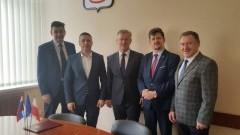 Coraz bliżej modernizacji bulwarów- Burmistrz Malborka podpisał umowę partnerską z miastem Swietłyj