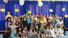 Bal karnawałowy w Szkole Podstawowej w Jantarze