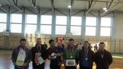 Drużyna Mentor Ubezpieczenia mistrzem Żuławskiej Halowej Ligi Piłki Nożnej.