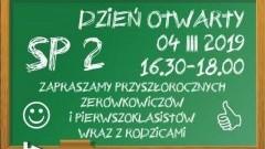 Dzień Otwarty w Szkole Podstawowej nr 2 w Malborku.