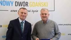 Nowy Dwór Gdański: Budowa ścieżki rowerowej do granic gminy Stegna. Podpisanie umowy.