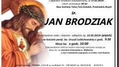 Zmarł Jan Brodziak. Żył 89 lat