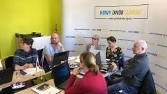Rowerowy Maj: Szkolenie dla koordynatorów placówek oświatowych w Gminie Nowy Dwór Gdański.