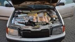 47 800 sztuk nielegalnych papierosów poukrywał w bagażniku, podłodze i komorze silnika
