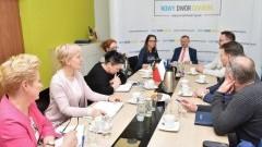 Gmina Nowy Dwór Gdański: Spotkanie Burmistrza z dyrektorami placówek oświatowych.