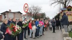 Uroczystość upamiętniające 79 - rocznicę zbrodni katyńskiej , 9 - rocznicę ofiar katastrofy smoleńskiej w powiecie sztumskim.
