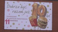 Euforia w narodzie. McDonald's w Malborku znowu otwarty.