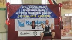"""Kwidzyn: I miejsce zawodnika MKS """"Rzemieślnik"""" na XXIX Międzynarodowych Mistrzostwach Masters w Podnoszeniu Ciężarów"""