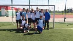 Sukces drużyny SP1 w Nowym Dworze Gdańskim na igrzyskach młodzieży w piłce nożnej chłopców.