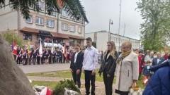 Młodzież z ZS nr 2 wzięła udział w obchodach uchwalenia Konstytucji 3 Maja.