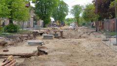 Remont ulicy Słowackiego w Malborku. Zobacz wideo i zdjęcia