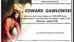 Zmarł Edward Gawłowski. Żył 85 lat
