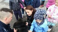Przedszkolaki z Waplewa odwiedziły malborską komendę policji