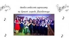 Koncert zespołu flażoletowego w Lubieszewie