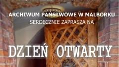 Archiwum Państwowe w Malborku zaprasza na Dzień Otwarty