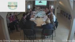 VII Sesja Rady Gminy Mikołajki Pomorskie. [video]