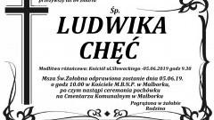 Zmarła Ludwika Chęć. Żyła 84 lata.