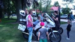 Policjanci na pikniku rodzinnym w Ostaszewie