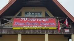 Uroczystość 70 - lecia Parafii w Jazowej