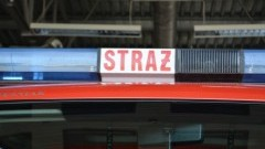 Pożar budynku gospodarczego w Stegnie oraz wypadek w Lubieszewie - raport nowodworskich służb mundurowych