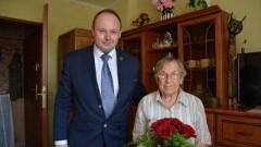 91.urodziny mieszkanki Gminy Nowy Dwór Gdański