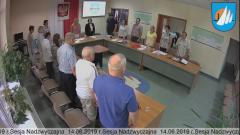 Nadzwyczajna Sesja Rady Miejskiej w Krynicy Morskiej na żywo.