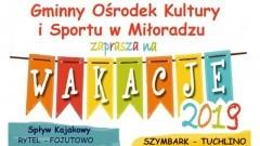 Wakacje z GOKIS Miłoradz. Bogaty program atrakcji dla mieszkańców