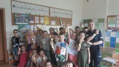 Powiat nowodworski: Policjanci rozmawiali o bezpieczeństwie nad wodą